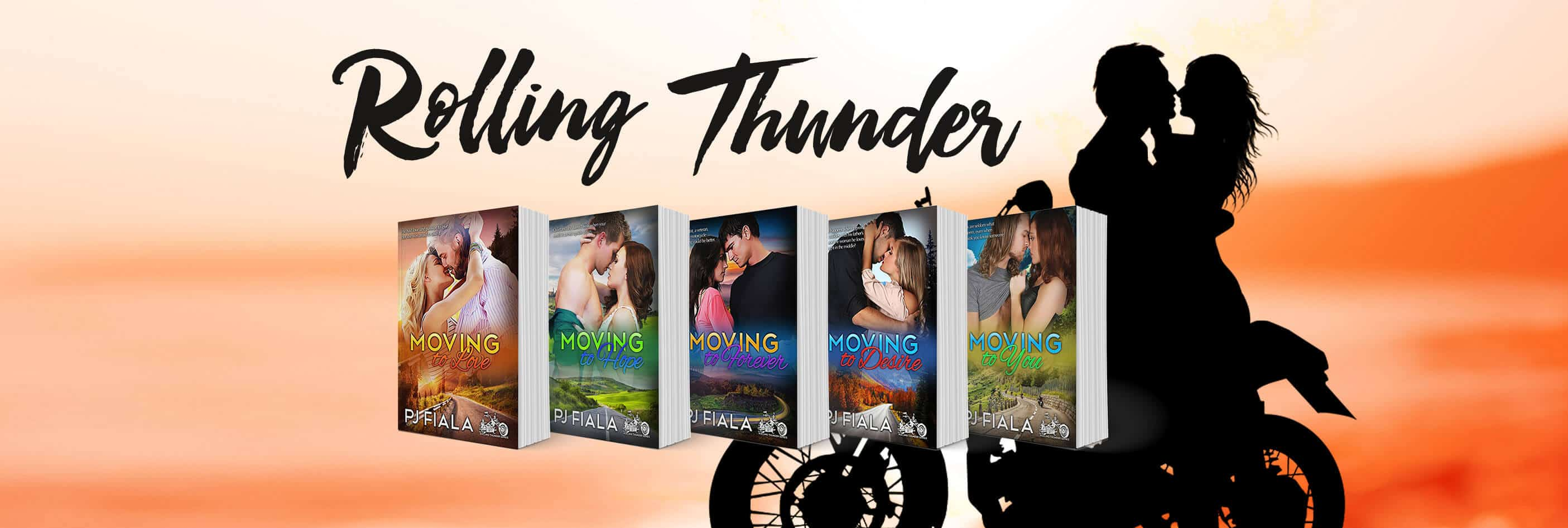 Rolling Thunder - Romance Series from author PJ Fiala