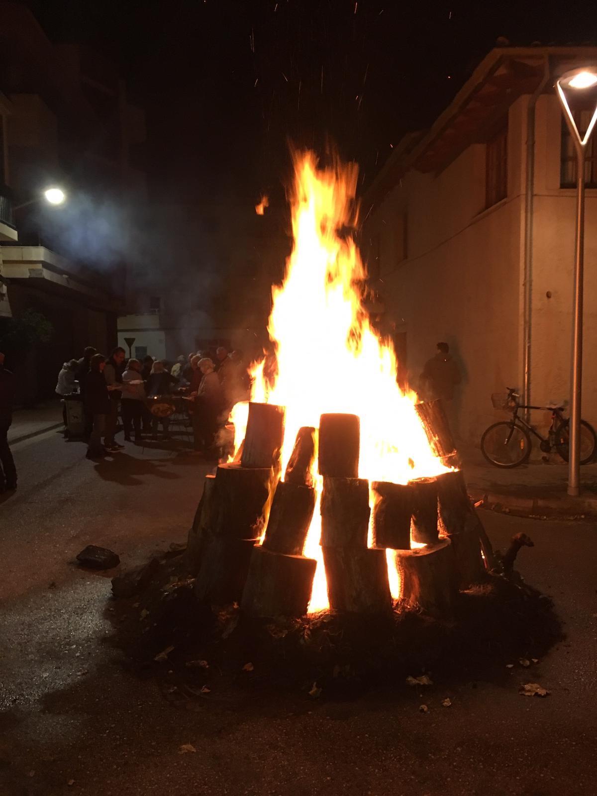 Sant Antoni festival in Port de Pollença