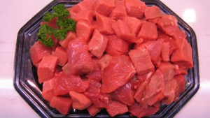 Extra lean Diced Stewing Steak