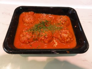 Homemade Meatballs in a herb & tomato sauce