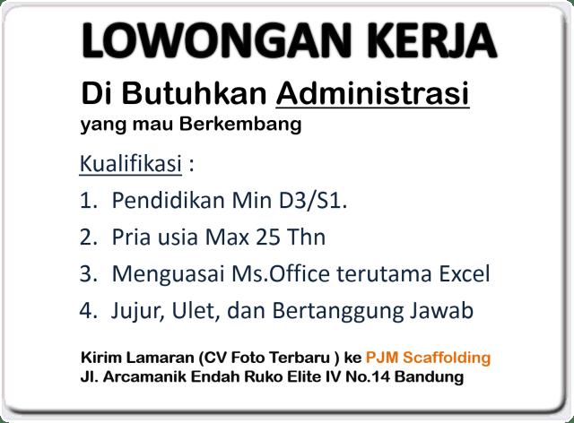 Lowongan Kerja Bandung, Lowongan Kerja Admin Bandung, Lowongan Kerja Bandung Hari Ini, Lowongan Kerja Administrasi Bandung