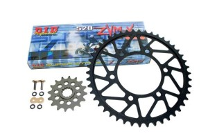 DID 525 ZVM-X Chain and Sprocket Kit Kawasaki ZX-10R 11-15