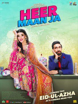 heer maan ja pakistani movie poster