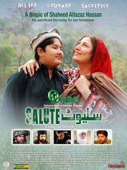 salute pakistani movie poster