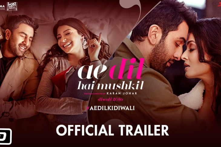 Ae Dil Hai Mushkil 2016 indian Movie Screenshot
