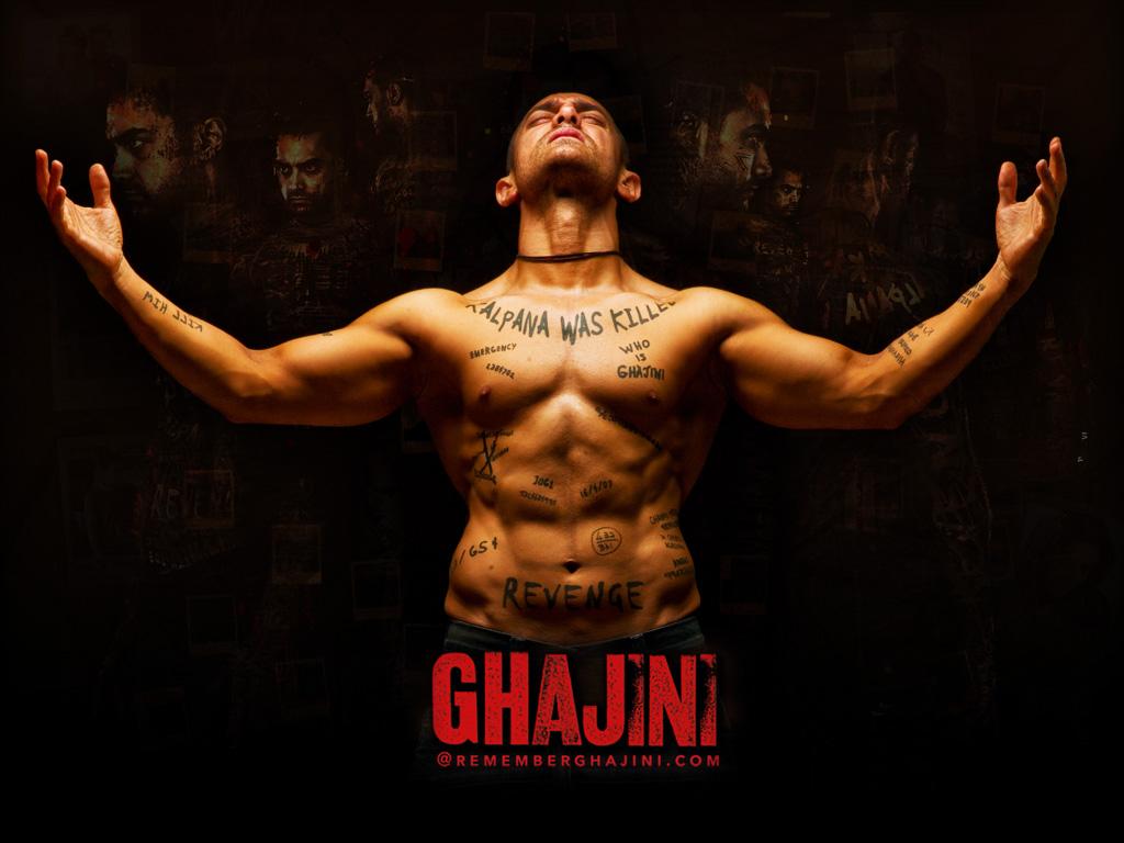 Ghajini indian Movie Screenshot