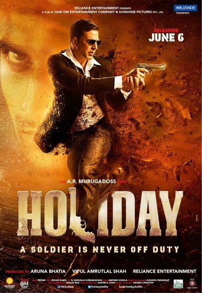 Holiday Indian movie poster