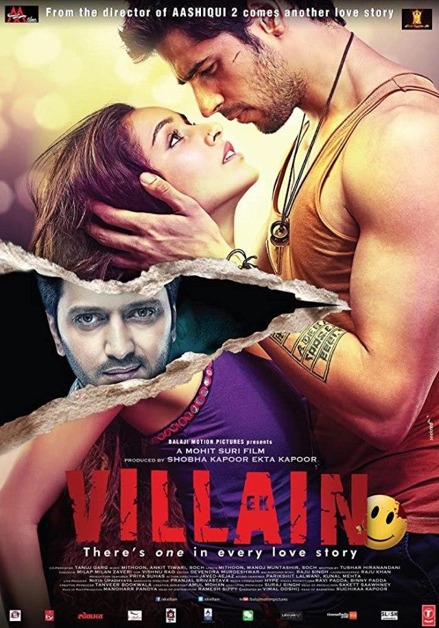 Ek Villain indian Movie Poster
