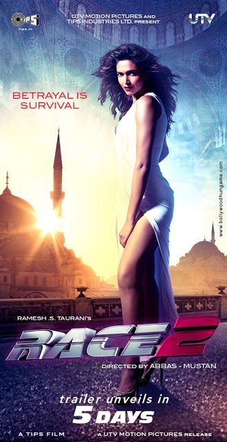 Race 2 indian Movie Poster