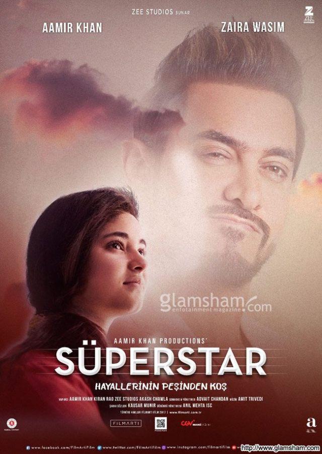 Secret Superstar indian Movie Poster