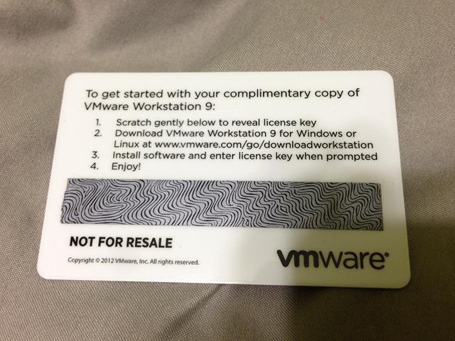 license key for vmware 9