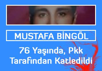 2014 Katliamı: 76 yaşındaki Mustafa Bingöl Pkk tarafından kurşuna dizildi