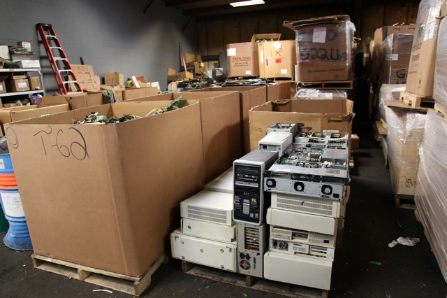 Recycling computers, monitors, servers and electronics