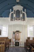 Laurenskerk - Echten / Orgel en Preekstoel
