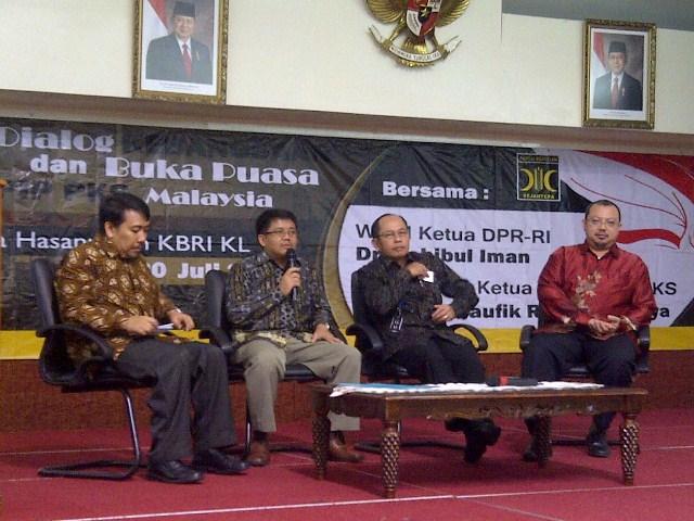 Kunjungan Wakil Ketua DPR dan BHLN PKS 1