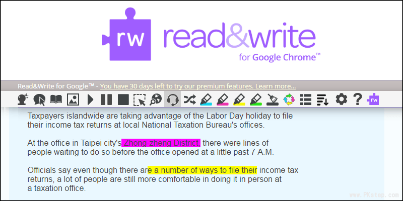 readwrite chrome