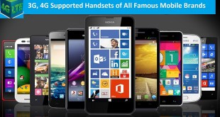 3G supported handsets