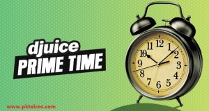Djuice Prime Time call offer
