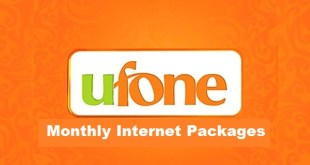 ufone monthly internet package