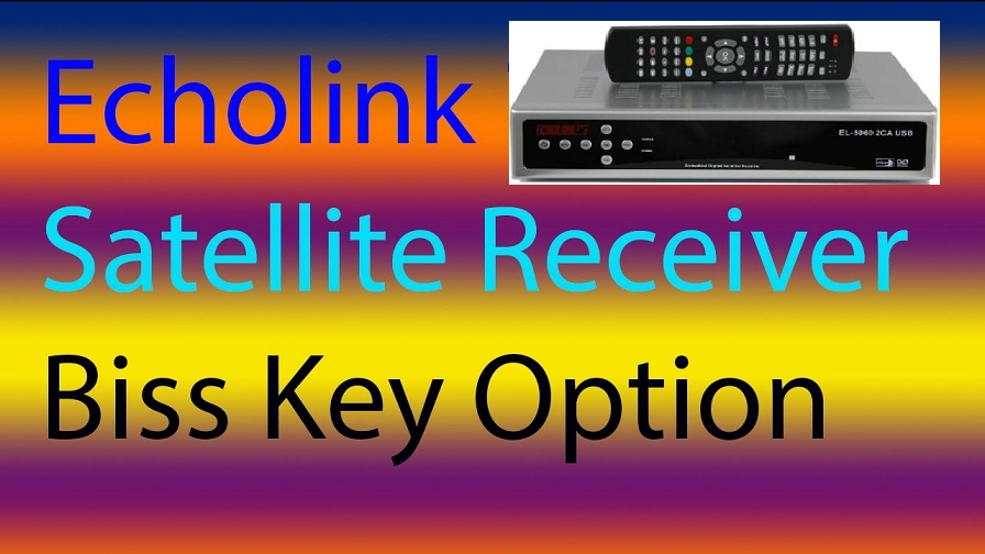 How to Add Biss Key in Echolink HD Receivers All Models - PkTelcos