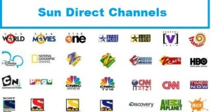 sun direct channels list