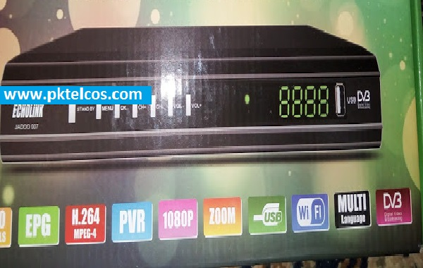 ECHOLINK JADOO 007 HD RECEIVER cline option