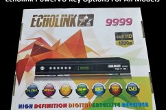 Echolink HD receivers PowerVU Key option