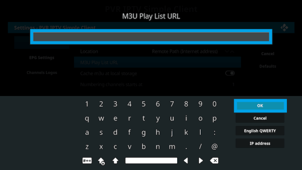play m3u on kodi 9
