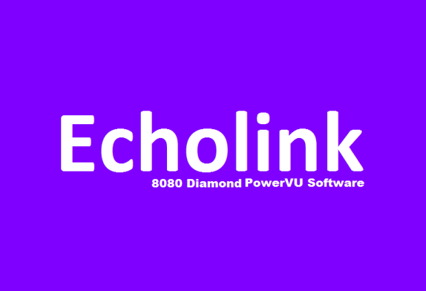Echolink 8080 Diamond HD Receiver New PowerVU Key Software - PkTelcos