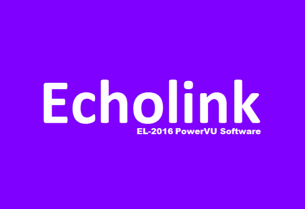 Echolink EL-2016 HD Receiver New PowerVU Key Software