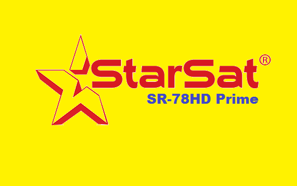 Starsat SR-78HD Prime Receiver New PowerVU Key Software