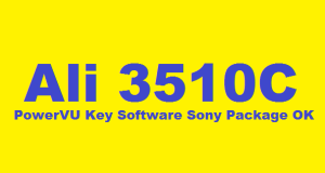 Ali 3510C HD New PowerVU Key Software Sony Package OK