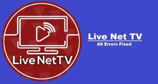 livenettv error fix