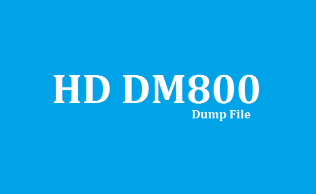 Diamond HD DM800 Receiver New Dump File
