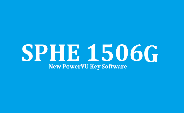 SPHE 1506G Type HD Receiver New Software 2020