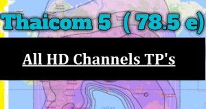 Thaicom 5 HD Channels List with Frequency @ 78.5° East