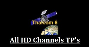 Thaicom 6 HD Channels List with Frequency @ 78.5° East