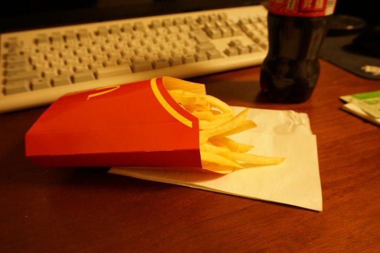 マクドナルドのフライドポテト(旨わさび)