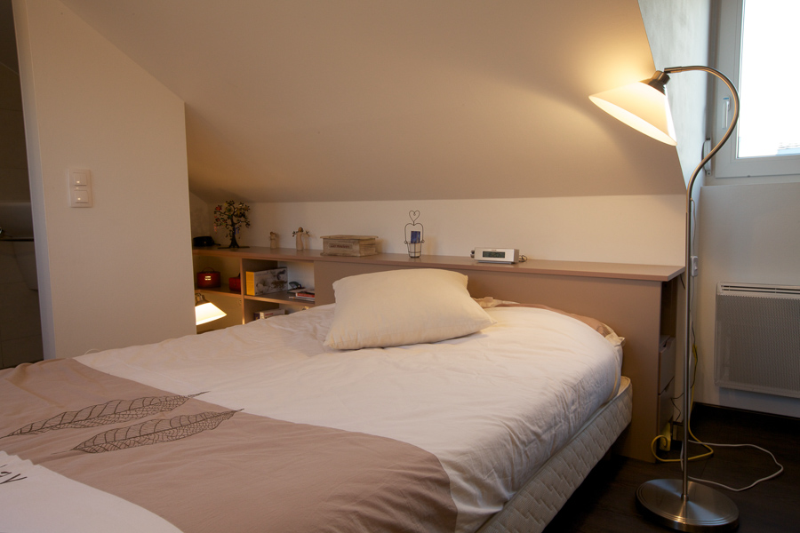 Agencement Chambre Sous Pente Placards Mage Strasbourg