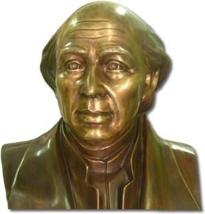 bustos y esculturas fundidos en bronce