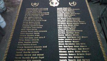 placa de bronce generacional