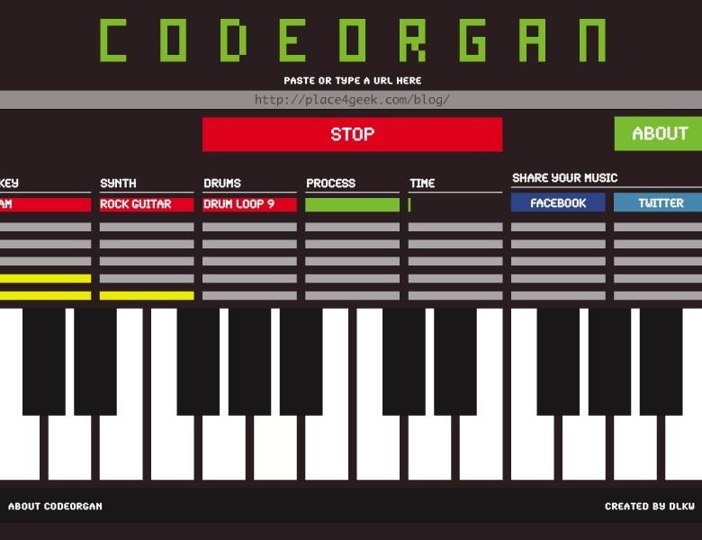 Ecouter son site web avec Codeorgan