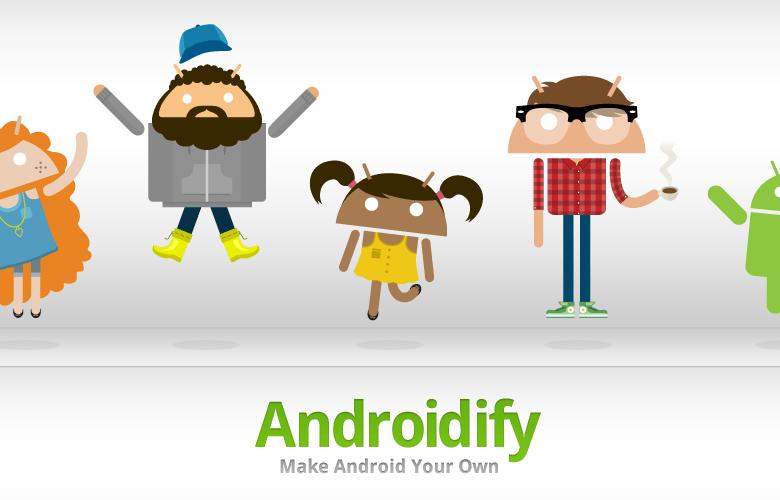 Androidify, transformez vous en BugDroïd