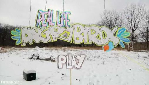 Angry Birds dans le monde réel