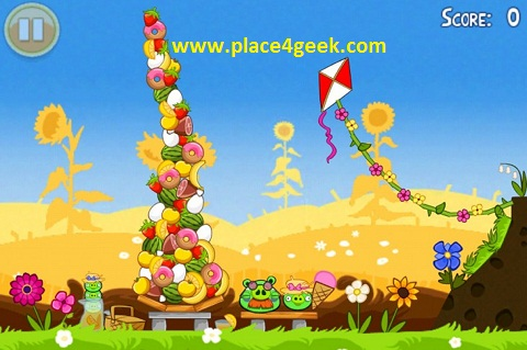 Angry Birds Summer Pignic Golden Egg 3 stars (3 étoiles)