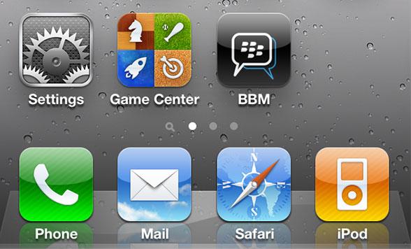 Blackberry Messenger bientôt sur iOS et Android ?