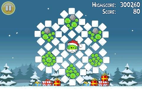 Angry Birds Seasons Noel Golden Egg 1