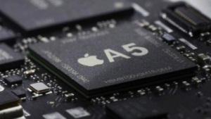 Processeur A5 dans l'iPhone 5