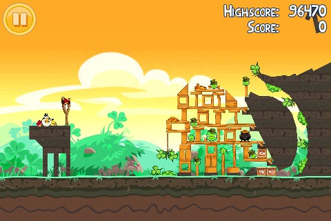 Angry Birds Seasons St Patrick Golden Egg 1