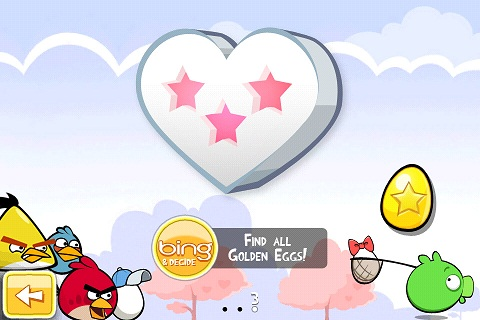 Angry Birds Seasons St Valentin Golden Egg 2